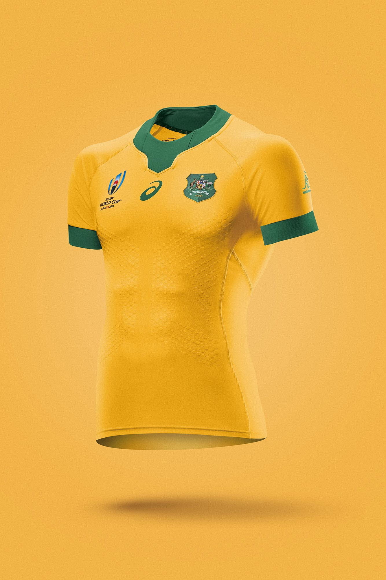 asics world cup rugby jersey photographed by product photographer Smith And Daniels