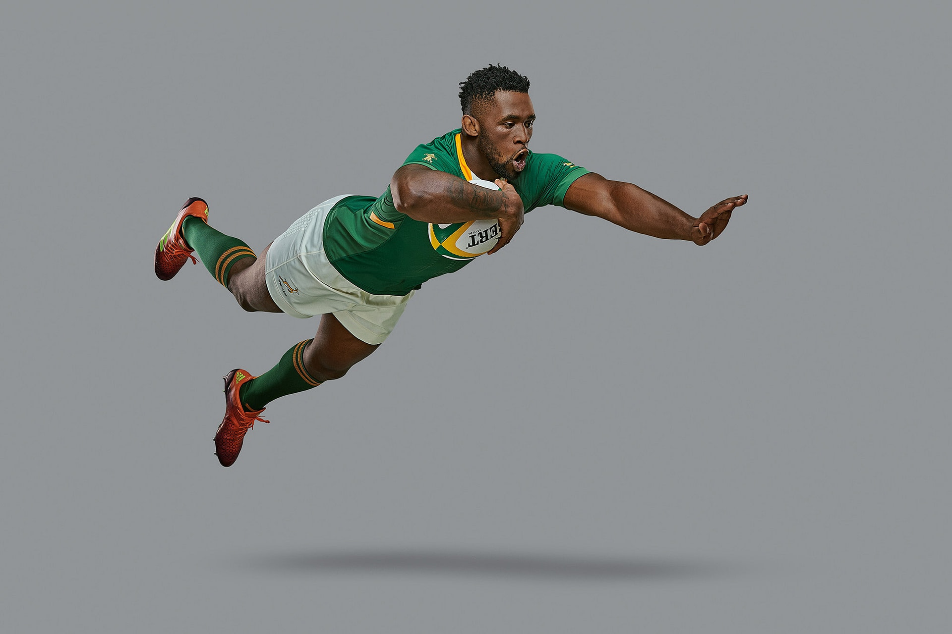 rugby world cup captain siya kolisi photographed by smith and Daniels