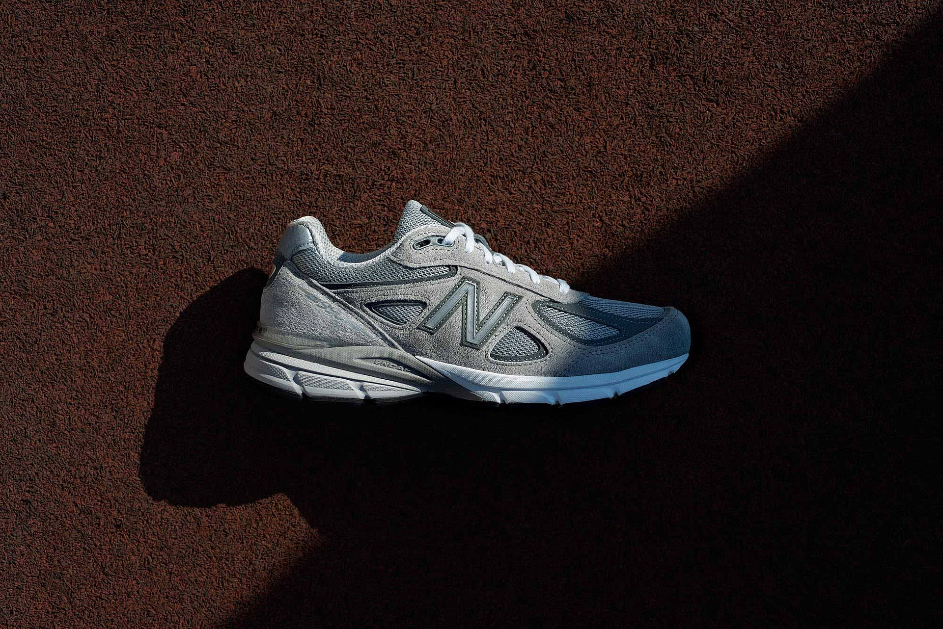 new balance 990v4 running outdoors and on location in johannesburg