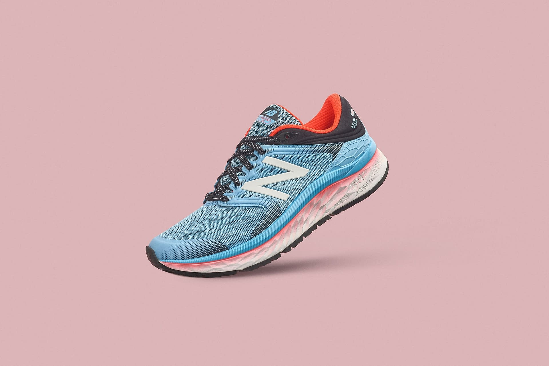 new balance running shoe product photography by smith and Daniels